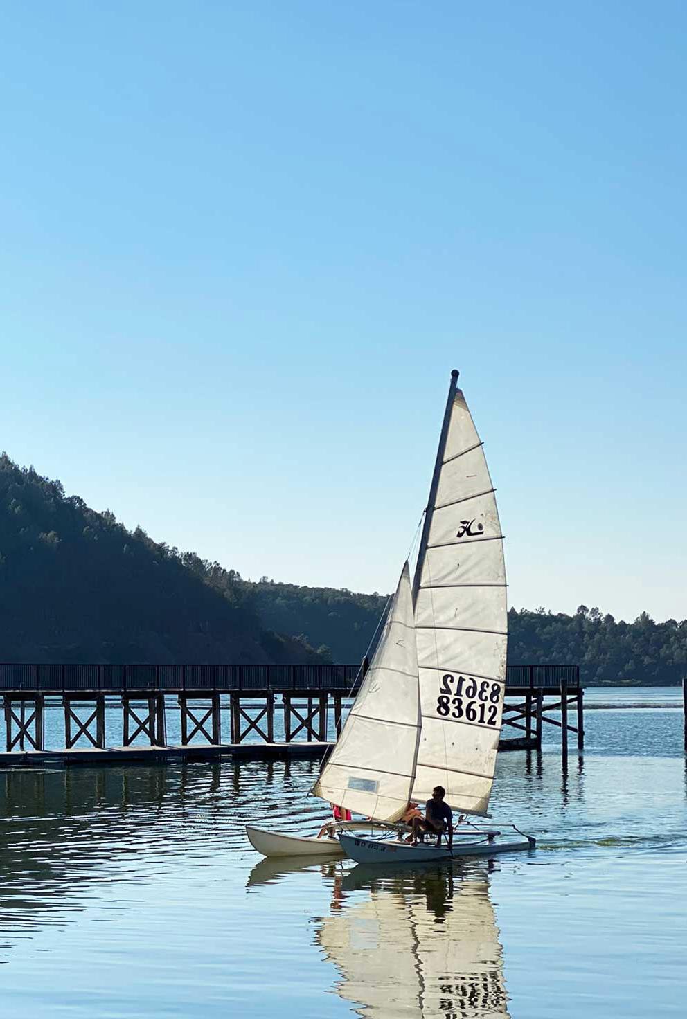 Lake Activities - Sailing